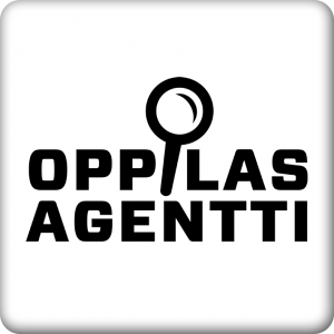 Oppilasagentti-badge